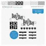 2019 Day2Day 2nd Half 12x12 Pre-designed Book