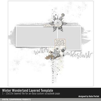 Winter Wonderland Layered Template