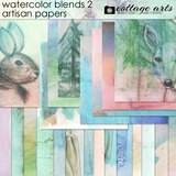 Watercolor Blends 2 Artisan Papers