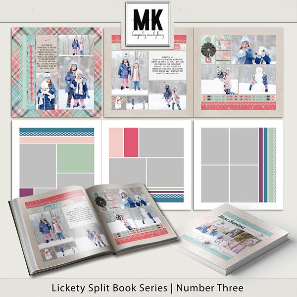 Lickety Split Book Series - Book Three Digital Art - Digital Scrapbooking Kits