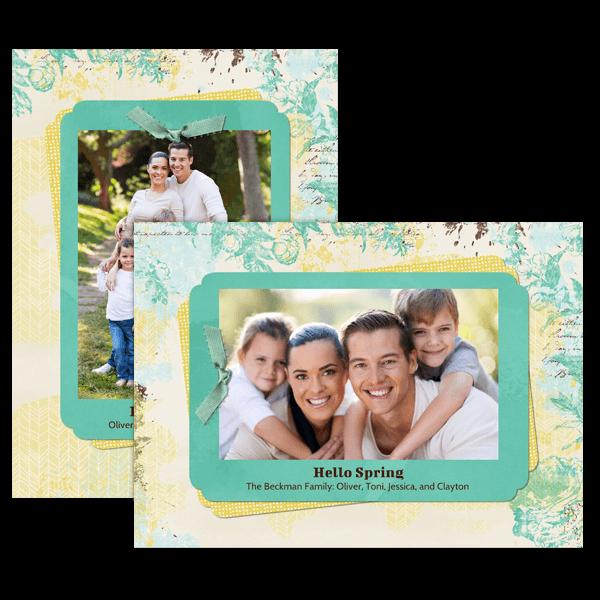 Carefree Spring Card