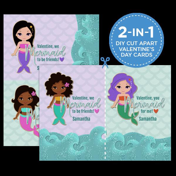 Mermaid to be Friends Card