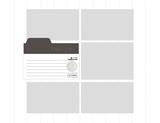 Modern Kitchen 11x8.5 Predesigned Pages