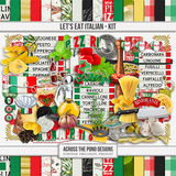 Let's Eat Italian - Page Kit