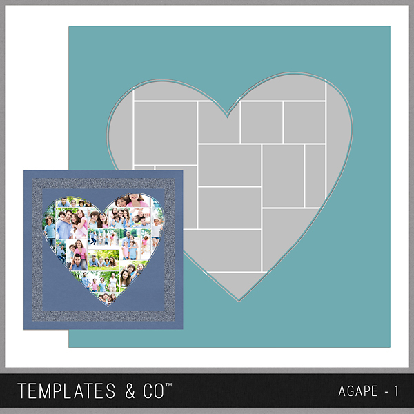 Agape 1 Digital Art - Digital Scrapbooking Kits