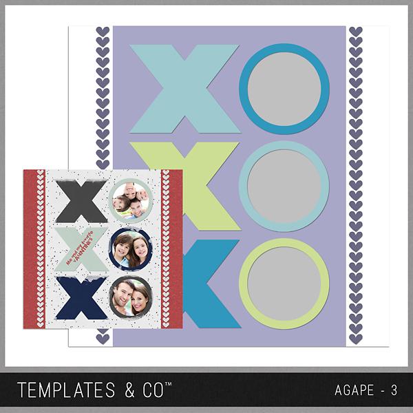 Agape 3 Digital Art - Digital Scrapbooking Kits