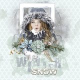 Winter Story - Photo Masks