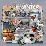 Winter Story - Wood Papers