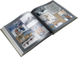 Winter Story Pre-designed Book