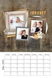 2019 & 2020 Rustic Chic Calendar 12x18