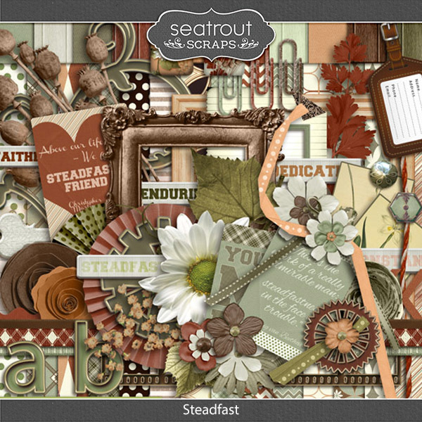 Steadfast Digital Art - Digital Scrapbooking Kits