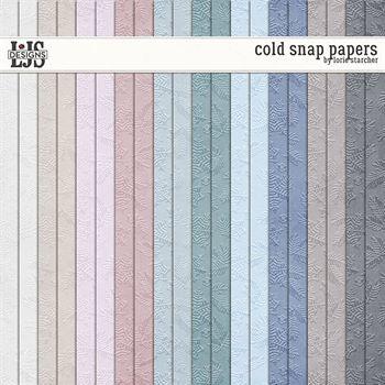 Cold Snap - Papers Digital Art - Digital Scrapbooking Kits