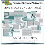 Classic Blueprint Collection 2016 Mega Bundle (11x8.5)