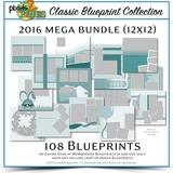 Classic Blueprint Collection 2016 Mega Bundle (12x12)