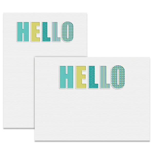 Big Hello Card