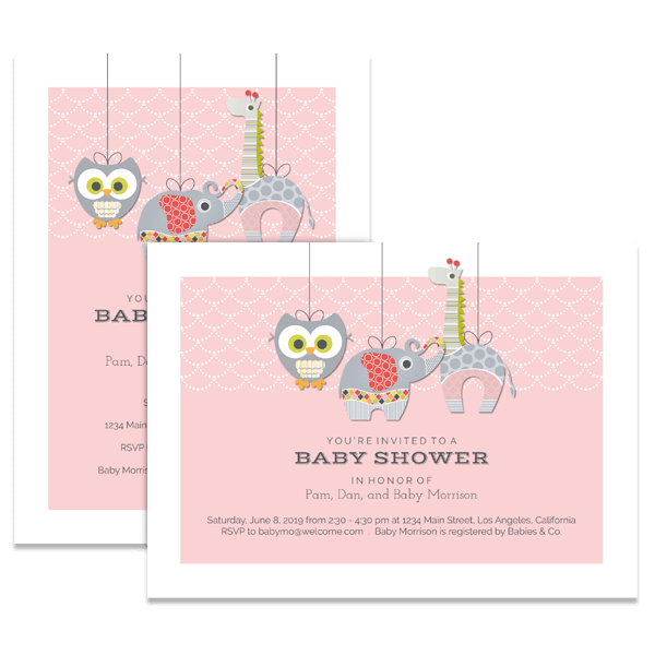 Ellie Elephant & Friends Card