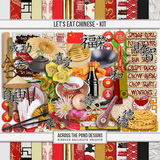 Let's Eat Chinese - Page Kit