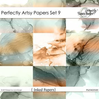 Perfectly Artsy Papers Set 9