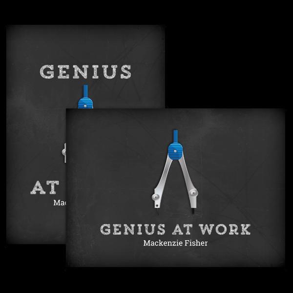 Genius At Work Card