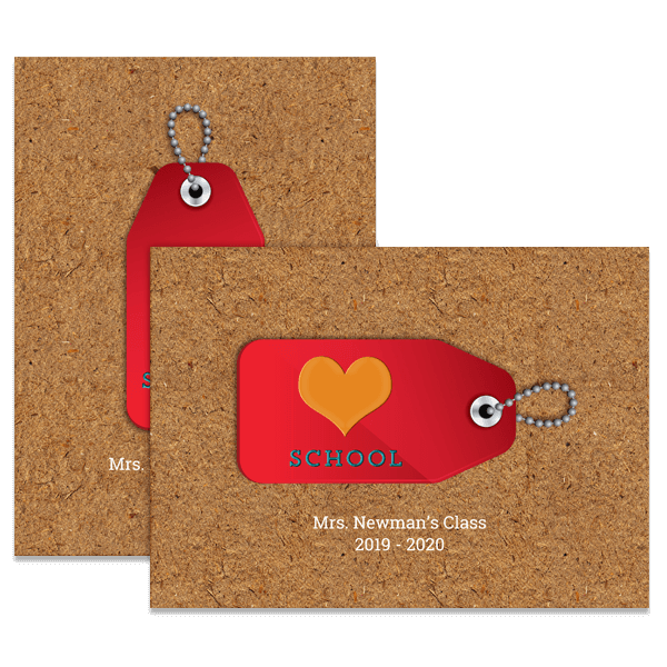 Love School Card
