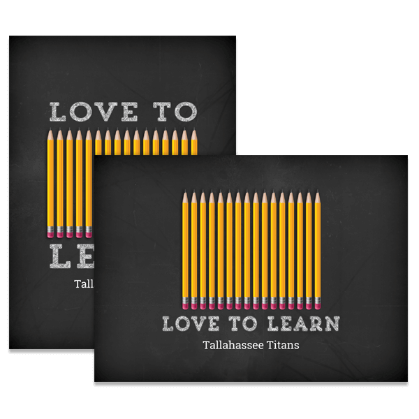 Love To Learn Card