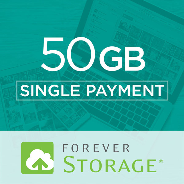 50 GB StorageGive the gift of Digital Art, Software, Storage, and Video plans. Make a lasting impression with our hand-selected favorites from FOREVER®.