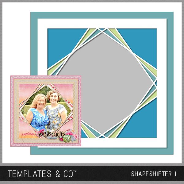 Shapeshifter 1 Digital Art - Digital Scrapbooking Kits