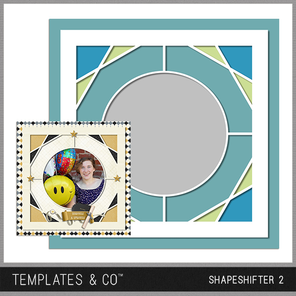 Shapeshifter 2 Digital Art - Digital Scrapbooking Kits