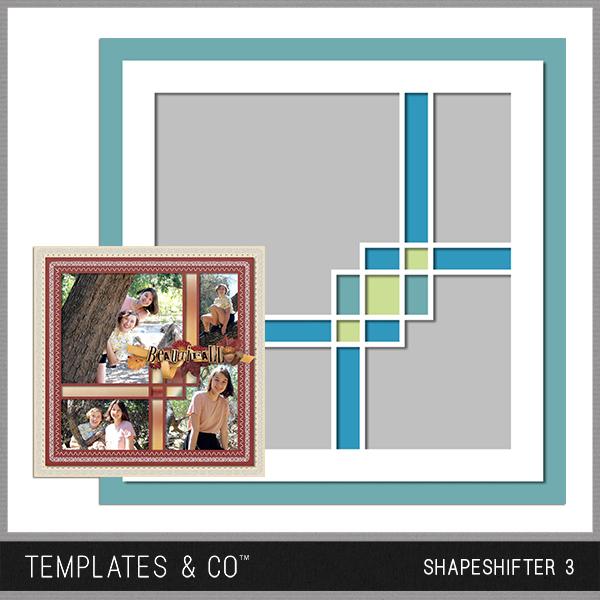 Shapeshifter 3 Digital Art - Digital Scrapbooking Kits
