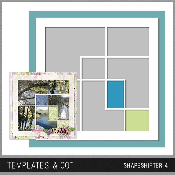 Shapeshifter 4 Digital Art - Digital Scrapbooking Kits