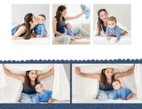 Simple Baby Boy 11x8.5 Digital Predesigned Pages
