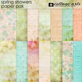 Spring Showers Paper Pak