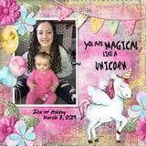 Always Be A Unicorn Scrap Kit