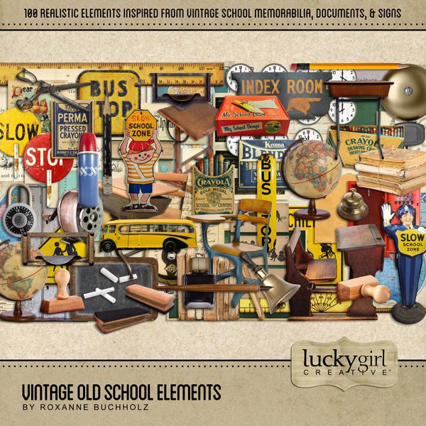 Vintage Old School Elements