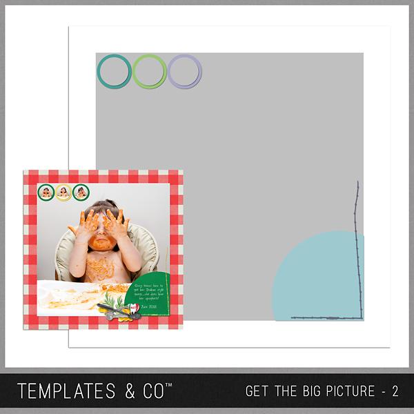 Get The Big Picture - 2 Digital Art - Digital Scrapbooking Kits
