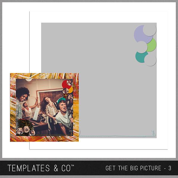 Get The Big Picture - 3 Digital Art - Digital Scrapbooking Kits