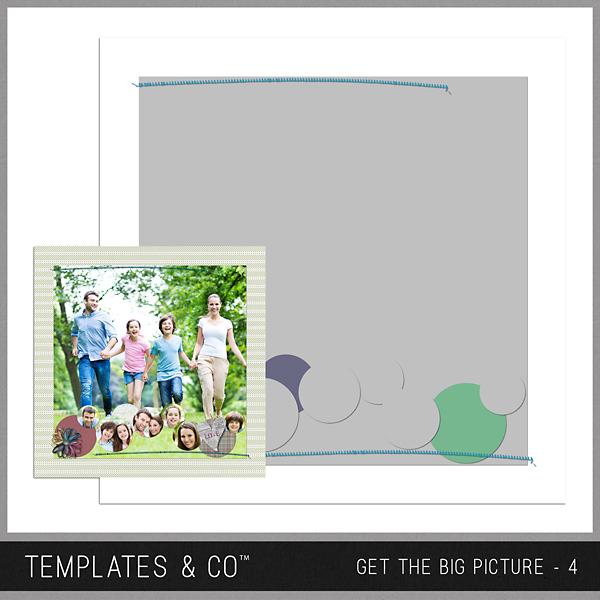 Get The Big Picture - 4 Digital Art - Digital Scrapbooking Kits
