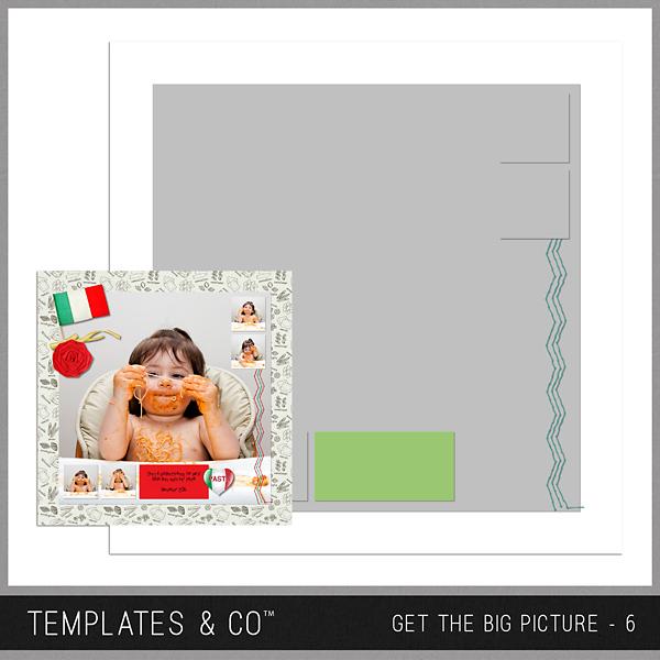 Get The Big Picture - 6 Digital Art - Digital Scrapbooking Kits