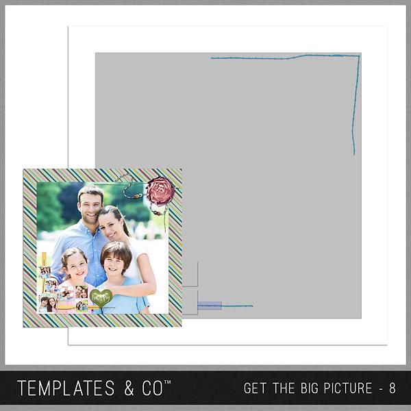 Get The Big Picture - 8 Digital Art - Digital Scrapbooking Kits