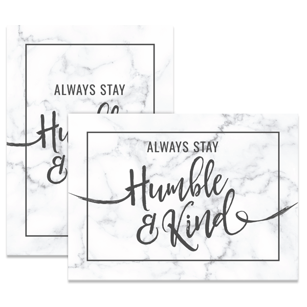 Humble And Kind Card