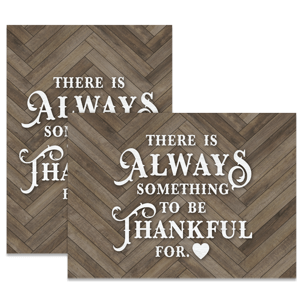 Always Thankful Card