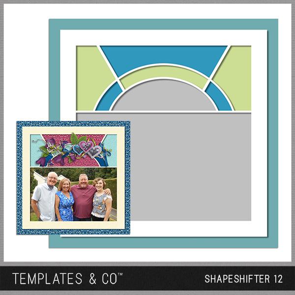 Shapeshifter 12 Digital Art - Digital Scrapbooking Kits