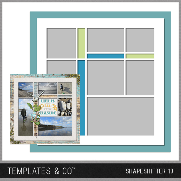 Shapeshifter 13 Digital Art - Digital Scrapbooking Kits