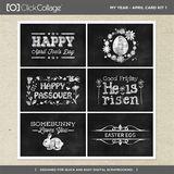 My Year - April Card Kit 1