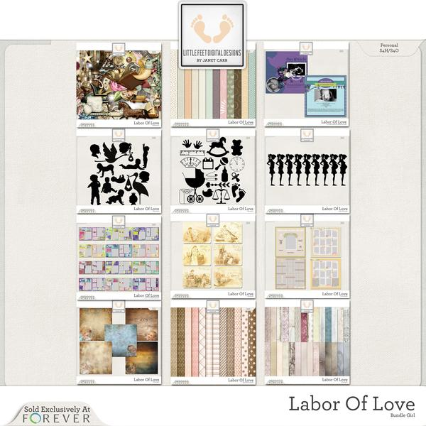 Labor Of Love Super Mega Jumbo Bundle For Girl