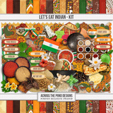 Let's Eat Indian - Page Kit