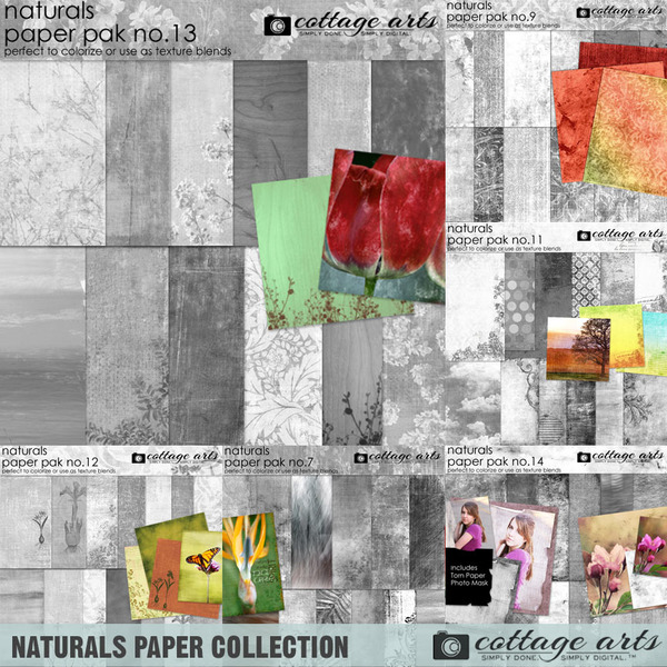 Naturals Paper Collection
