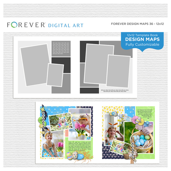 Forever Design Maps 36 12x12