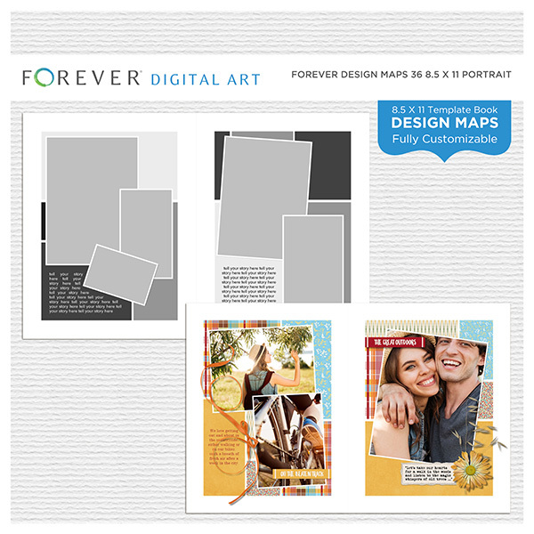 Forever Design Maps 36 8.5x11 Portrait