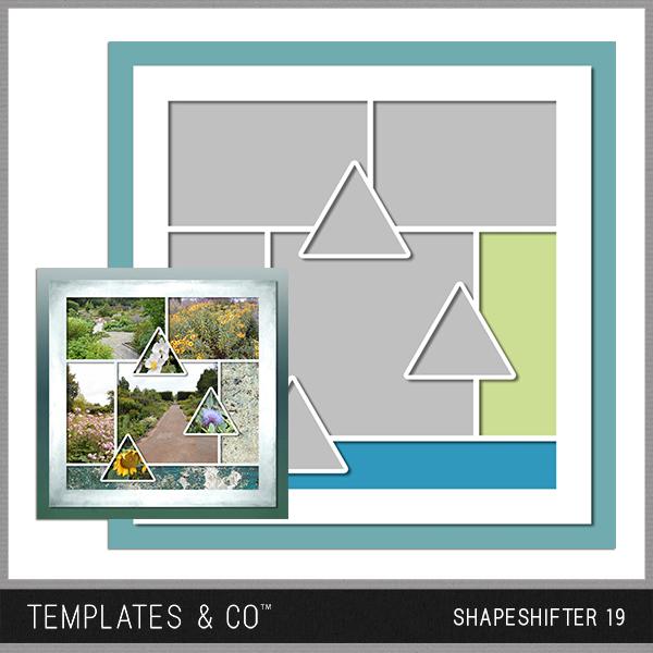 Shapeshifter 19 Digital Art - Digital Scrapbooking Kits